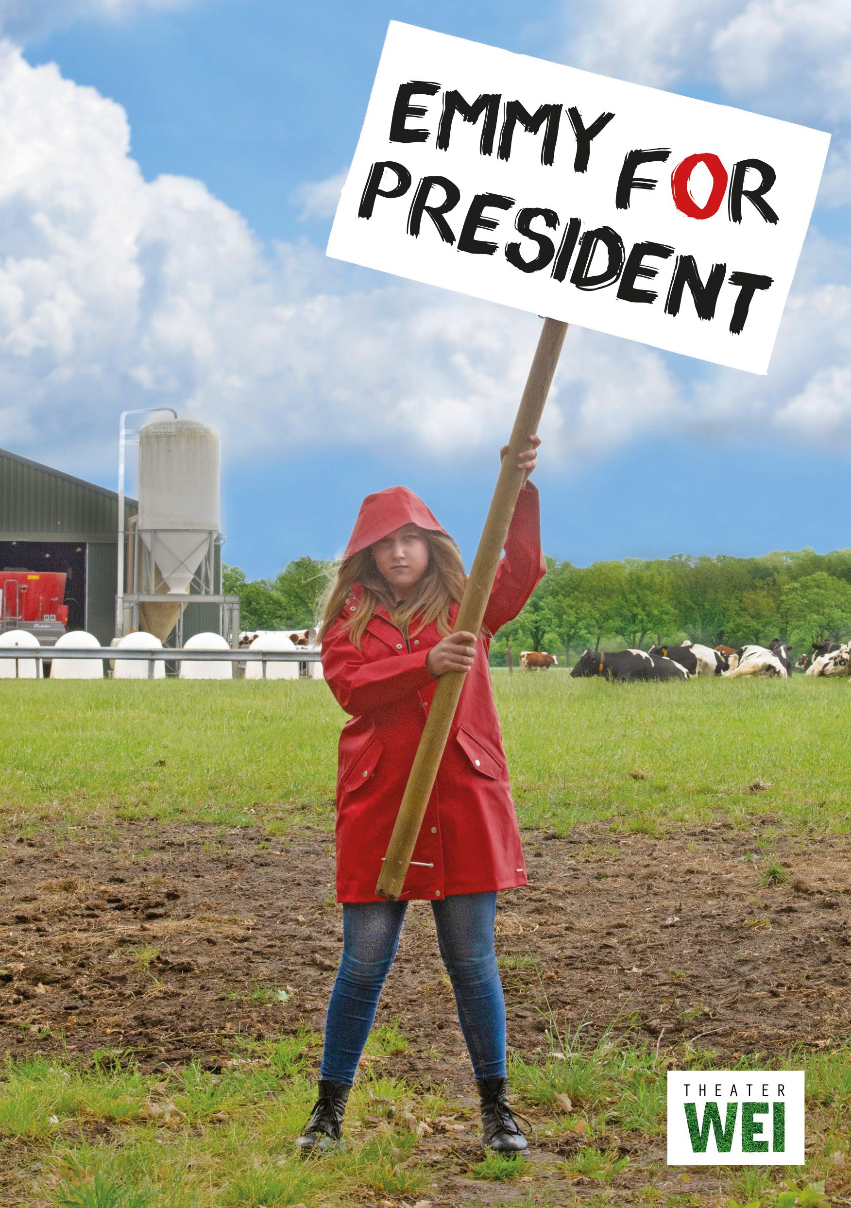 Emmy_for_PresidentA5_voorzijde